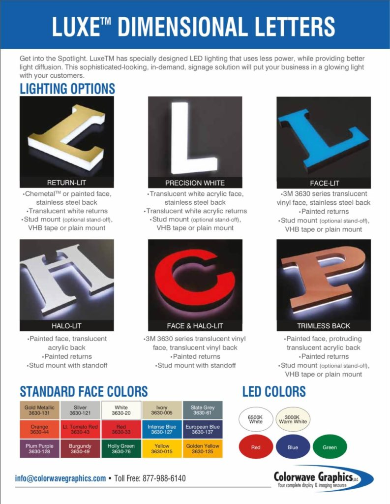 luxe dimensional letters pg 2