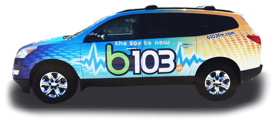 b103 van vehicle wrap